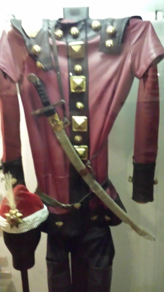 The King's fancy-dress uniform.